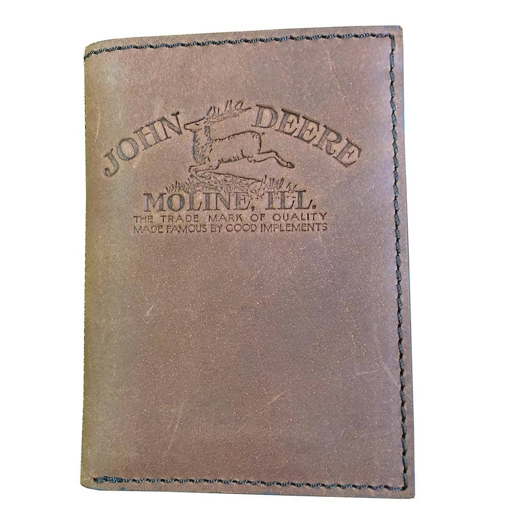 John Deere Leather Wallets: Trifold w/ Embossed Logo $17.21 | Interior Tractor Scene: Bifold w/ Money Clip or Trifold $17.85 and More + Free Store Pickup *price drop