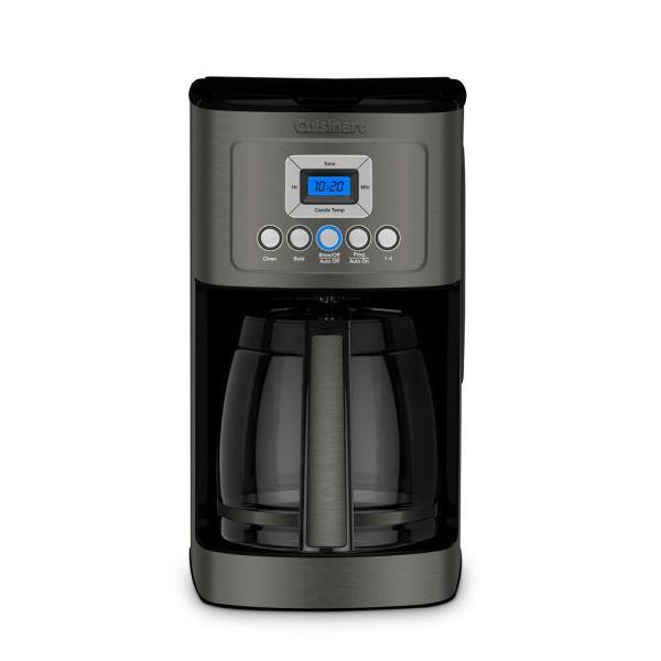 12-Cup Cuisinart Programmable Coffee Maker in Black $40 or Less + Free Store Pickup **clearance
