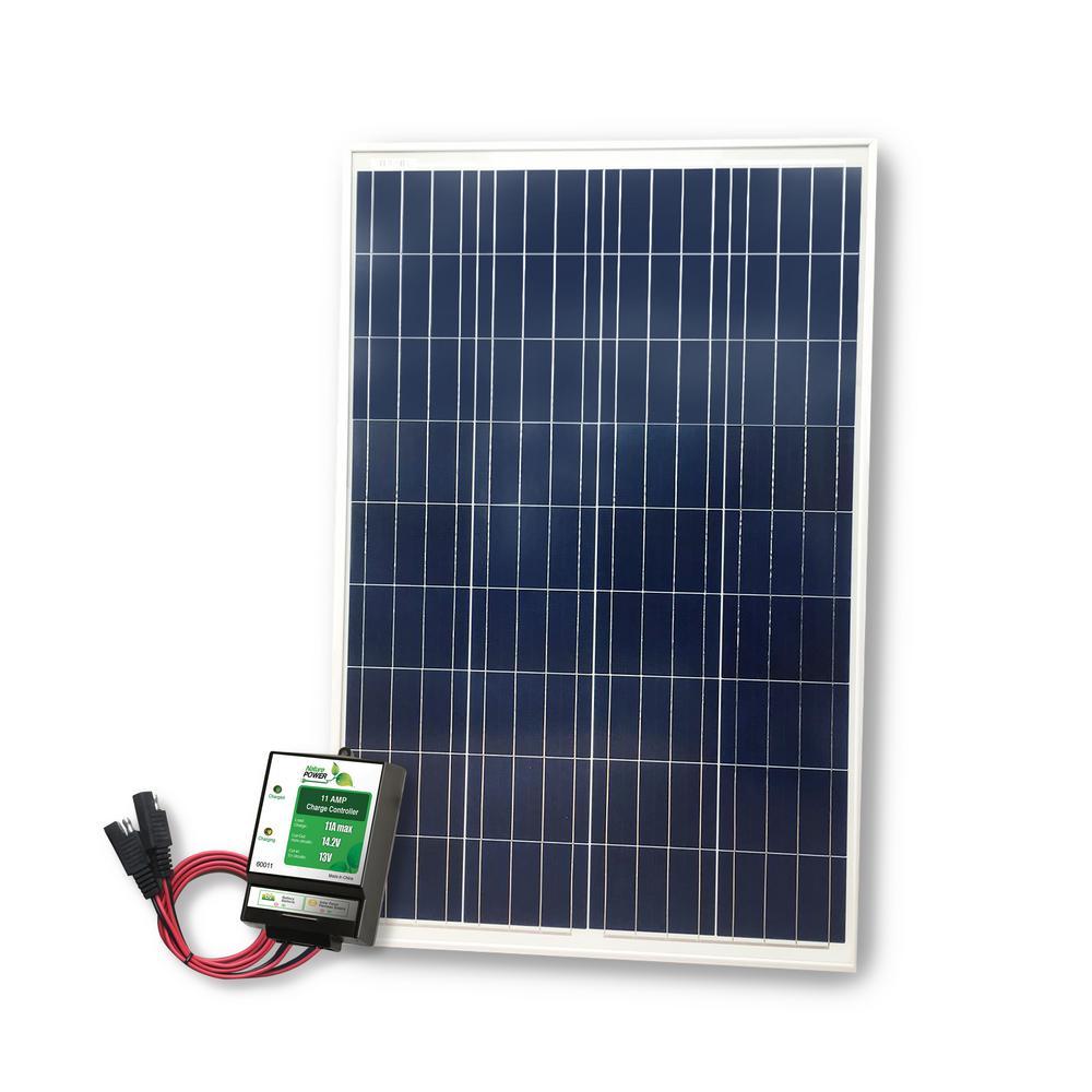 Nature Power 100 Watt High Power Complete Solar Kit $89 + Free Shipping