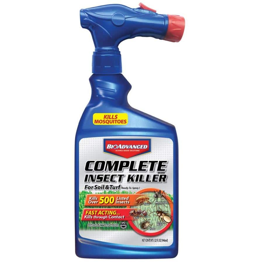 BAYER ADVANCED Complete Insect Killer: 32 oz Ready to Use Spray $2 AR | 10-lb Granules or 40 oz. Concentrate $7 each  + Free Shipping