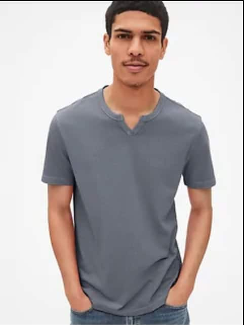 Gap.com: Extra 50% Off Markdowns - Men's Notch Tee $5 | Women's Softspun Tank Dress $7.50 | Boys' S/S Linen-Cotton Shirt or Star Wars w/ Rashguard $4 + FS on $50