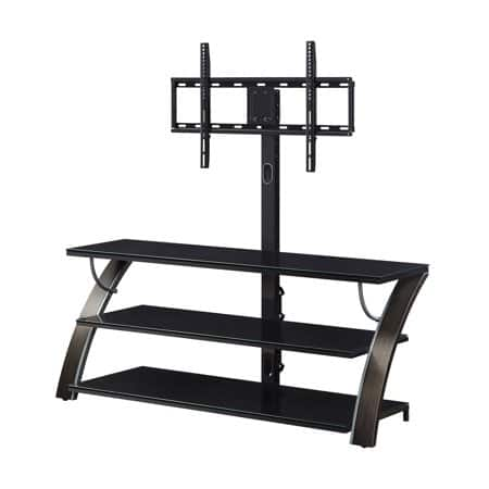 """Whalen 54"""" Payton TV Stand for TVs up to 65"""" at Walmart $99 + Free Shipping  *Pewter Finish"""