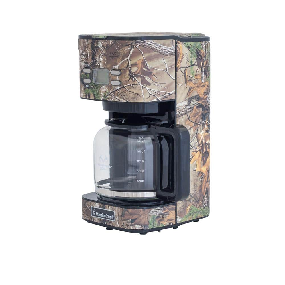 12-Cup Realtree Xtra Camoflauge Programmable Drip Coffee Maker $37.13 + Free Store Pickup at Home Depot
