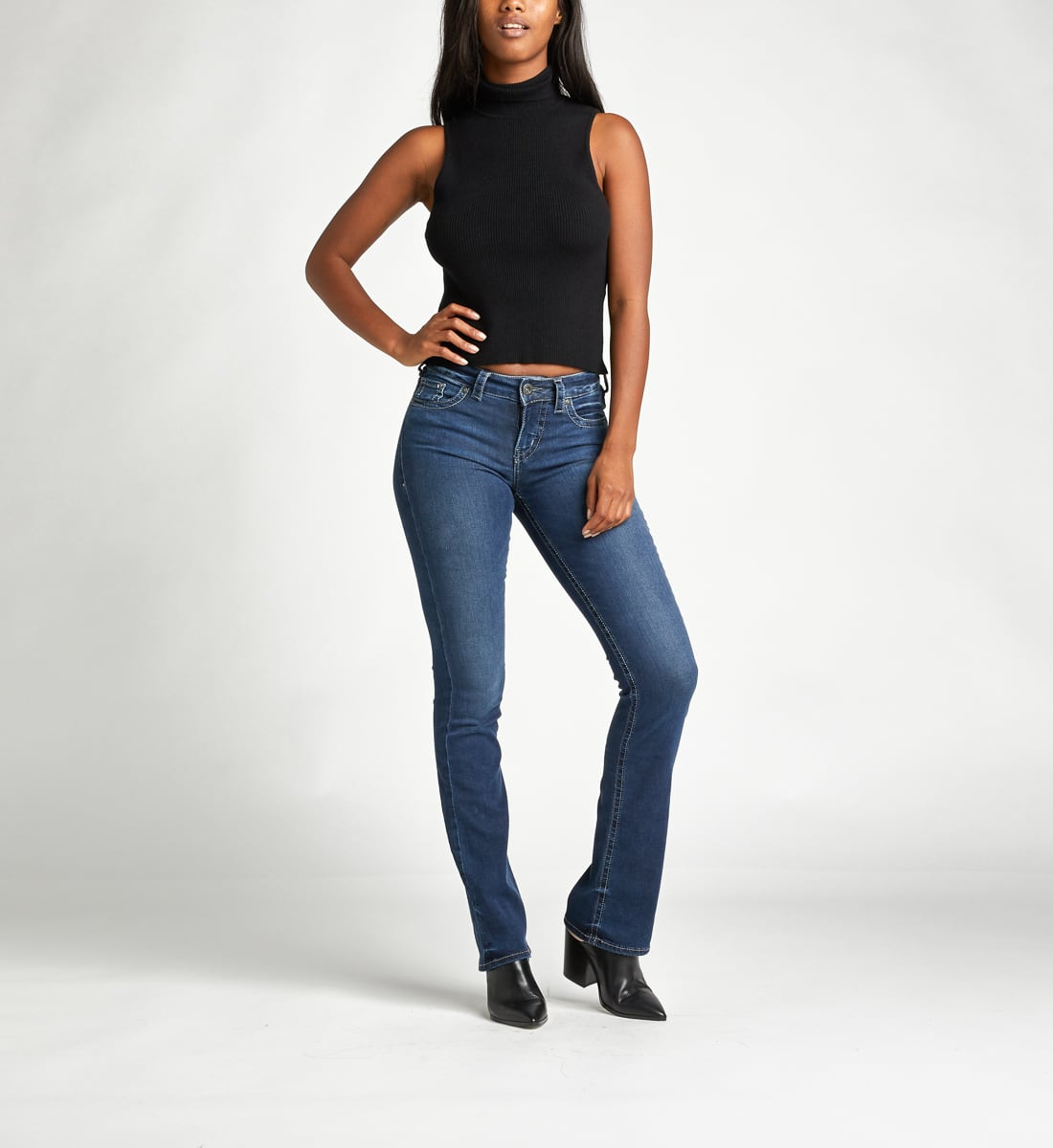 Silver Jeans Co. Clearance: Women's Aiko Mid Rise Slim Bootcut $20.97, Men's Konrad Slim Light Wash $26.97 and more + Free S/h