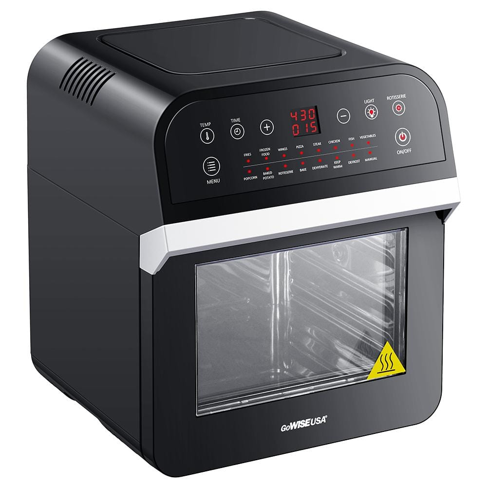 GoWise USA 1600 W Rotisserie Oven & 12.7 Qt. Electric Air Fryer $107.99 + Free Shipping