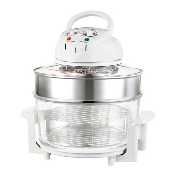 Magic Chef 1300 W White Convection Countertop Oven w/ Built-In Timer $35.99 + Free Shipping