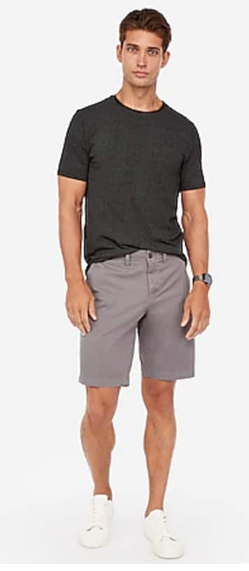 Express.com: Select Men's Short-Sleeve Shirts or Shorts: Mix/Match 2 for $24.80 + FS on $50+