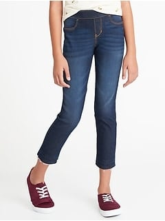 Old Navy: Select Kids' & Toddler Jeans $7, Women's Mid-Rise Super Skinny Jeans $10 + Free Store Pickup