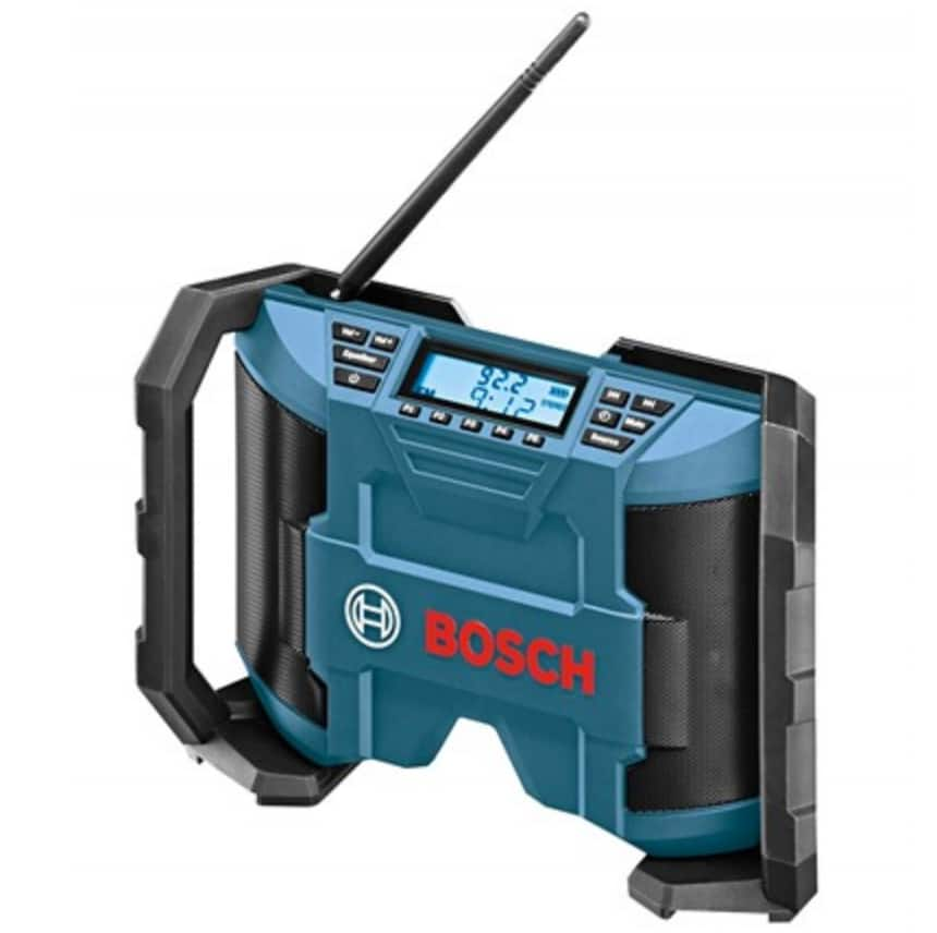 Bosch PB120 12-Volt Max Lithium-Ion Compact AM/FM Radio $40 + Free S/H for Prime Members