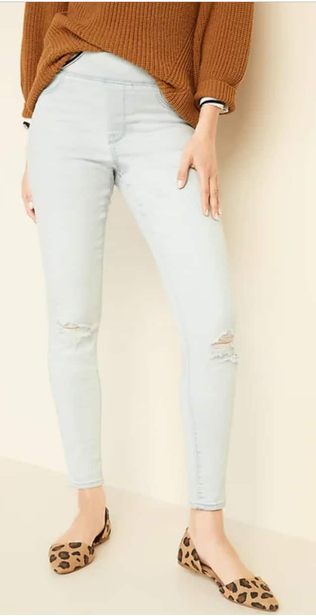 Old Navy: Women's Rockstar Jeans & Jeggings from $13.20 | Men's Loose Built-In Flex Jeans $15, Slim All Temp Jeans $18 + Free Store Pickup & More