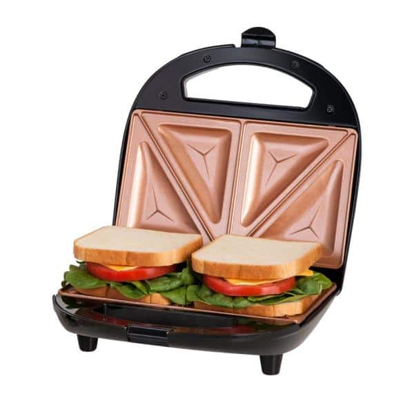 Gotham Steel Ti-Ceramic Non-Stick Sandwich Maker, Black $19.88 + Free Store Pickup at Home Depot $19.98