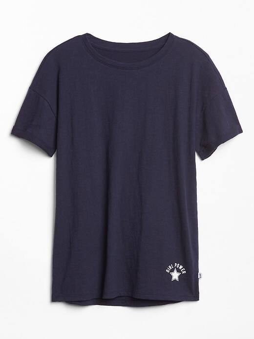 Gap Factory: Extra 20% OFF $50+ | Girls' Tunic Tee $3.18, Women's Print V-Neck or Supima Cotton Tee $4, Men's Pique Polo $7.18 + FS on $50+