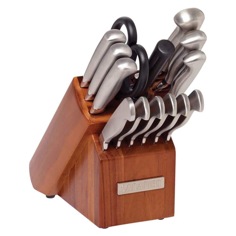 Sabatier 15-Piece Stainless Steel Hollow Handle Knife Block Set $45.80 + Free Shipping