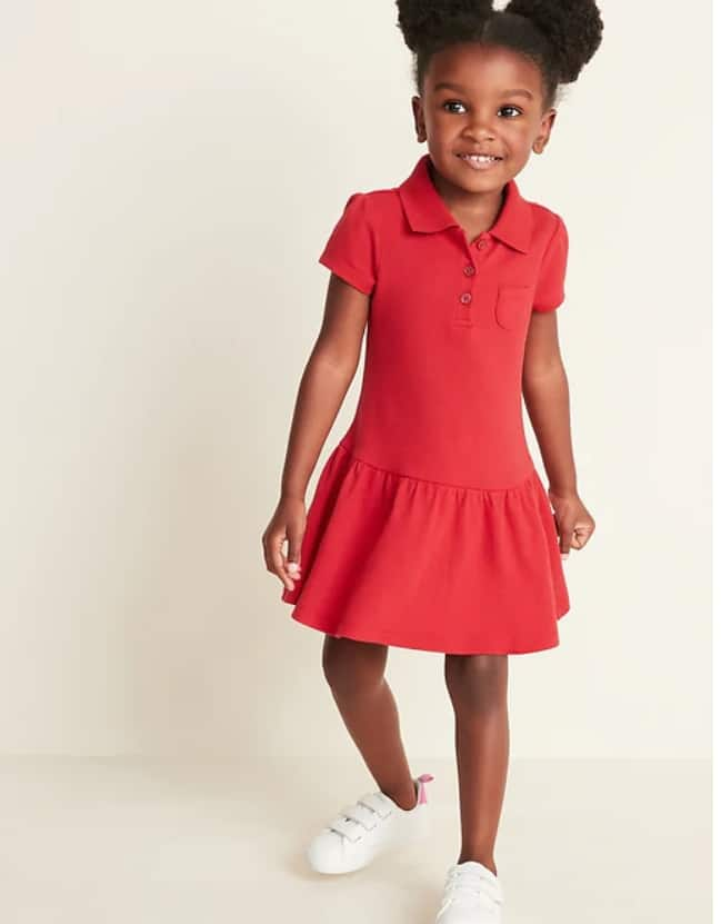 Old Navy: Extra 30% Select Styles + 15% Off Kids' & Baby - Toddlers' Polo Dress $3.91, Boys' Long-Sleeve Polo $4.76, Girls' Ballerina Jeggings $6 + FS on $50+