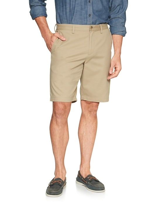 "Banana Republic Factory: Men's 10"" Aiden Slim-Fit Shorts from 4 for $23.77 ($5.94 each) or Slim-Fit Wrinkle Resistant Pants: 4 for $33.97 ($8.49 each) shipped & More"