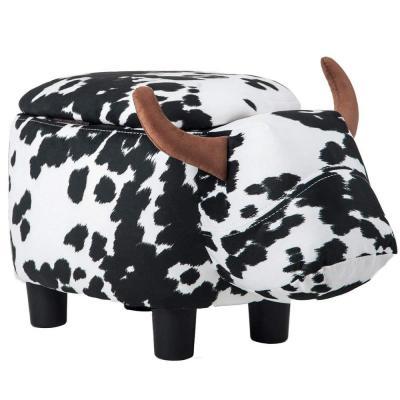 Merax Animal Storage Ottoman Footrest Stools: Cow $46.37, Brown Buffalo $55.72 + Free Shipping