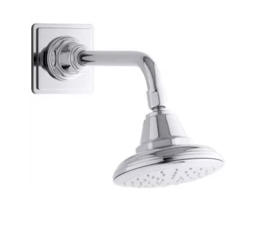Kohler Pinstripe 2.0 GPM Single Function Shower Head w/ Katalyst Air-Induction in Polished Chrome $23.30 + Free Shipping
