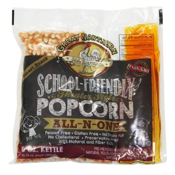24-Count Great Northern 8 oz. School Friendly Popcorn Portion Packs $17.24 at Home Depot + Free Store Pickup