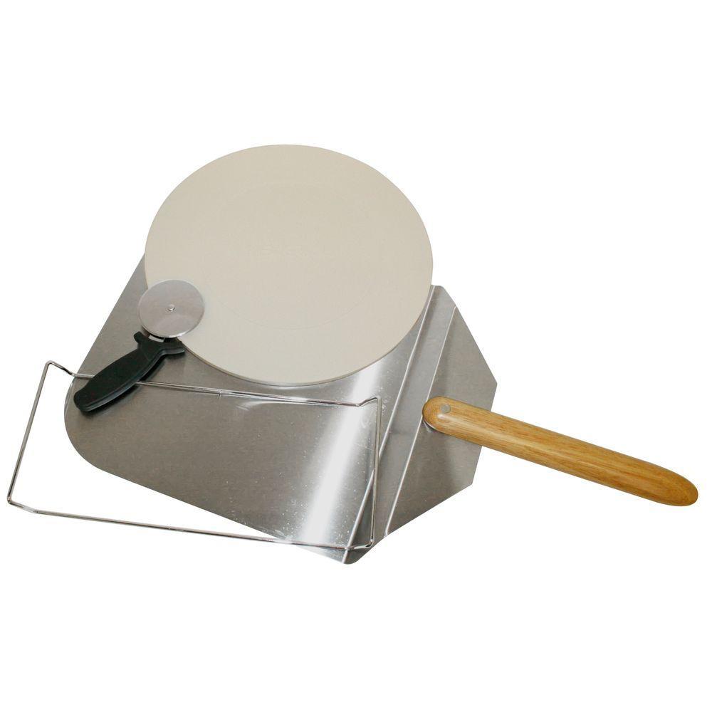 "3-Piece NexGrill Pizza Kit (14"" Ceramic Pizza Stone, Cutter & Server) $14.91 at Home Depot + Free Store Pickup **YMMV**"