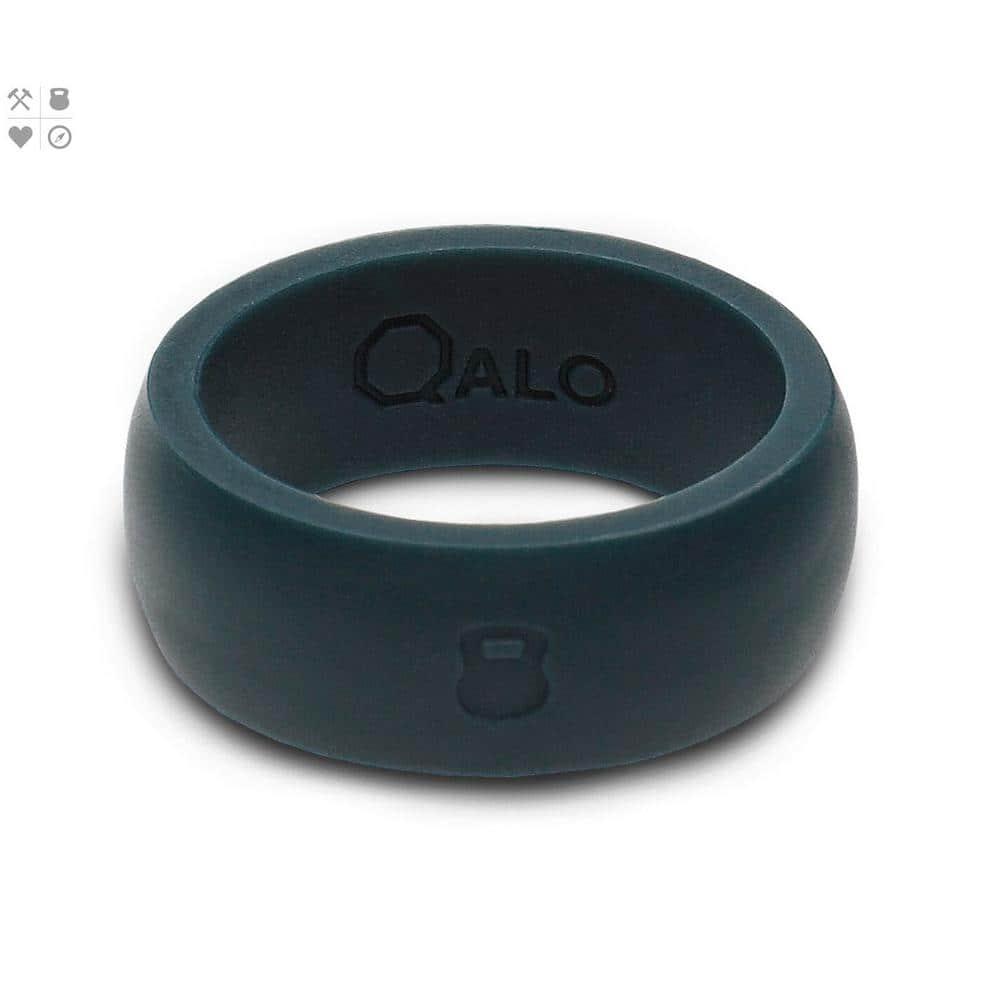 Men's & Women's QALO QX2 Silicone Wedding Rings from $8 + Free Store Pickup