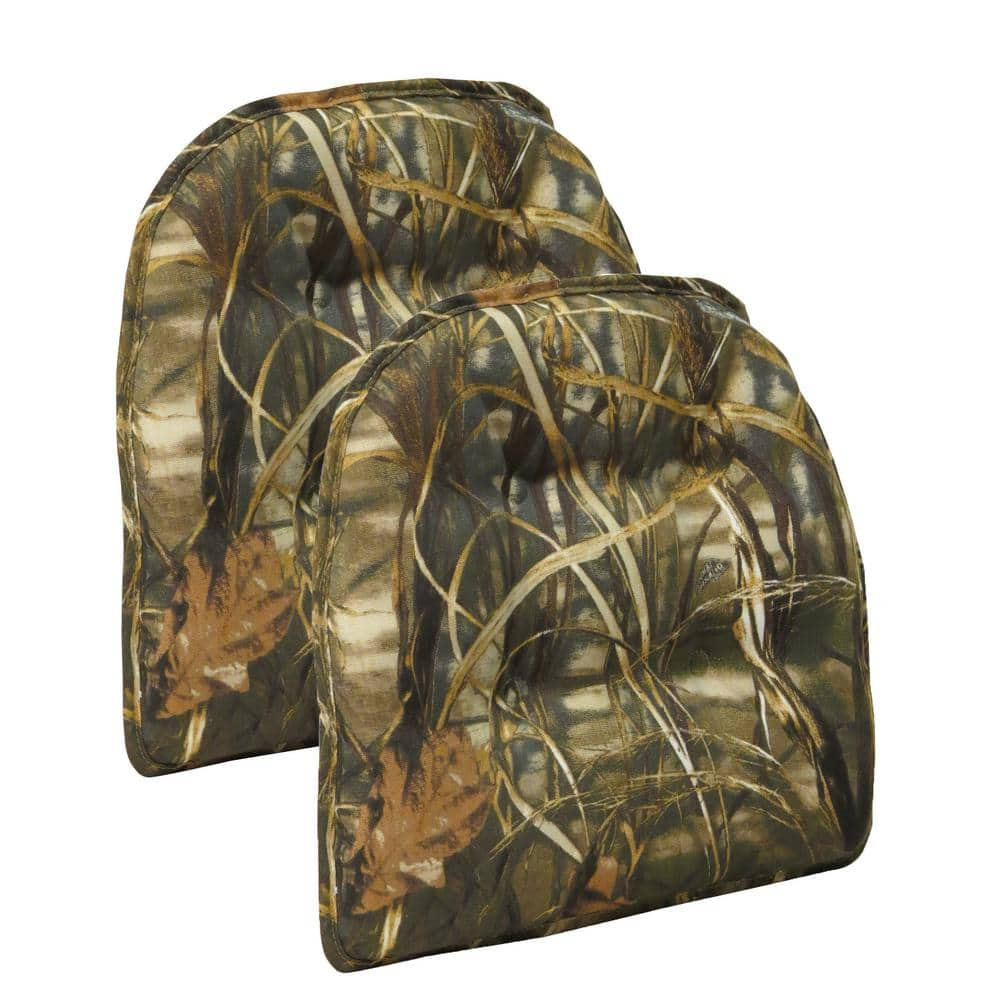 2-Pack Gripper Realtree Camouflage Tufted Chair Cushions $27.63 at Home Depot + Free Store Pickup