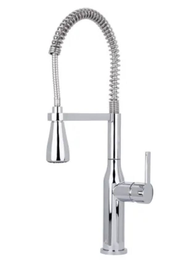 Miseno Galleria 1.8 GPM Pre-Rinse Kitchen Faucet w/ Multi-Flow Spray Head in Polished Chrome $65.25 + Free S/H
