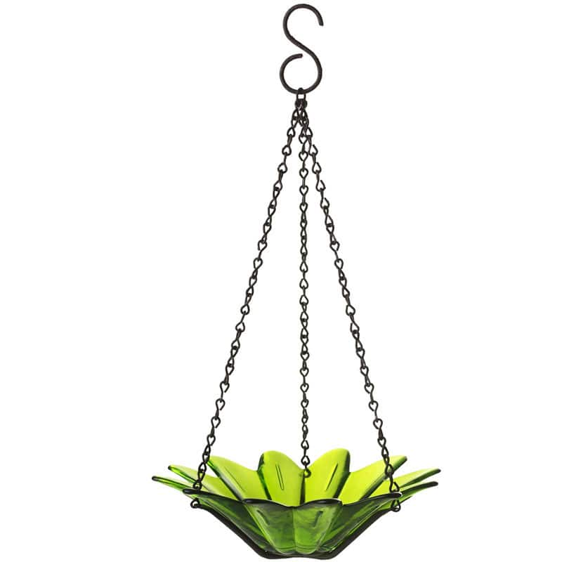 Couronne Hanging Glass Bowl Bird Feeder w/ 1 ports $4.99 at Select Ace Hardware Stores YMMV