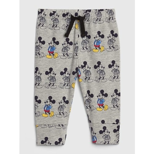 Gap Toddler Mickey Mouse Joggers, Pull-On Pants, Tee $7 each,  2-Pack Baby Pull-On Pants $13, 3-Pack Baby Brannan Bear Long-Sleeve Bodysuits $18 + FS on $50+