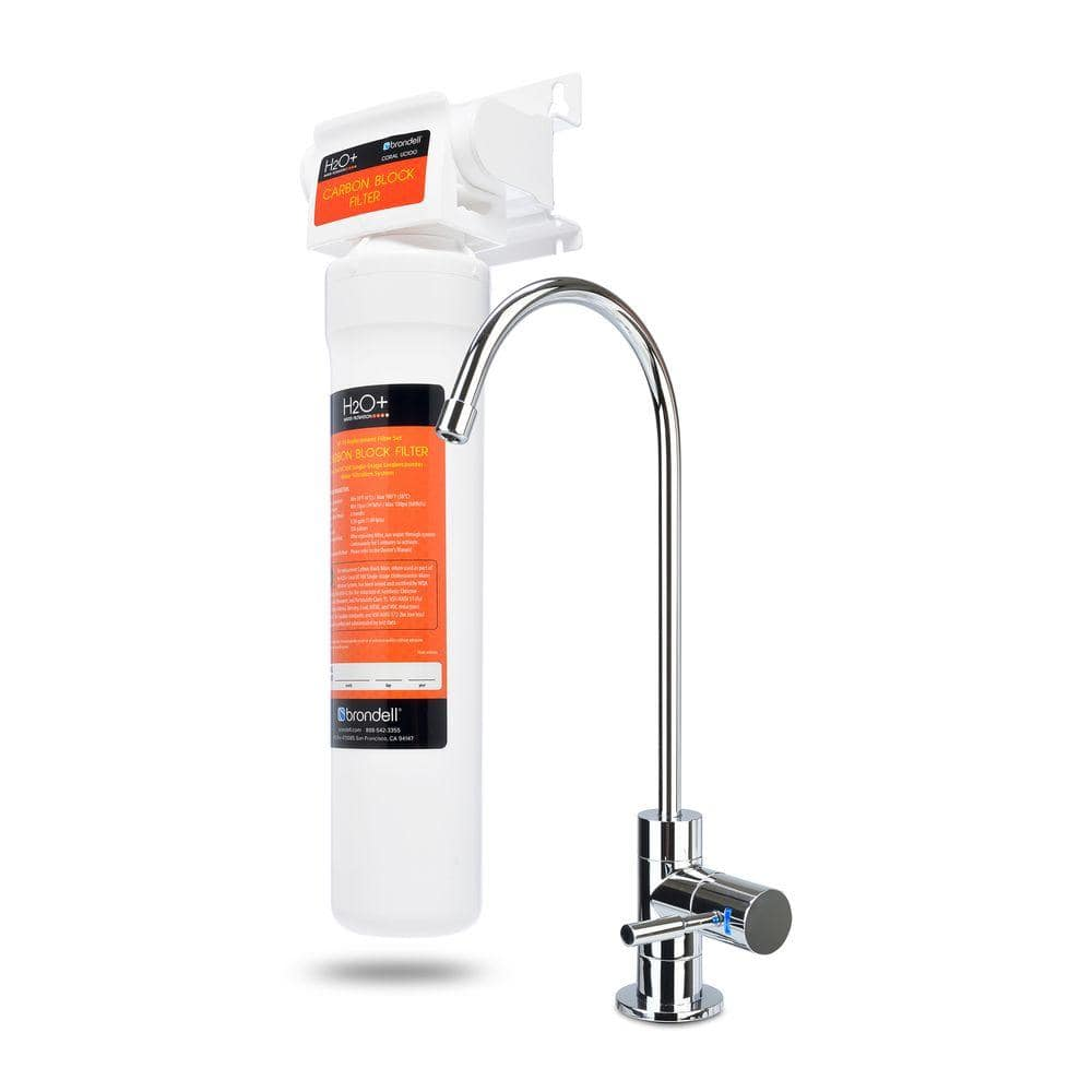 Brondell Coral Single Stage Under Counter Water Filtration System  $54, Pelican Water Heavy Duty Water Softener 80,000 Grain $999 + Free Shipping