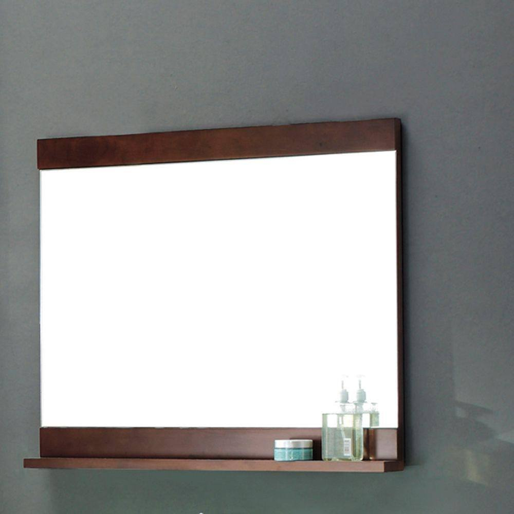 Bathroom Mirrors: Schon Vero 26 x 30-in Wall Mounted $35.85, Home Decorators Collection 36 x 30-in Chatham $50.70 + Free Store Pickup