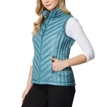 Women's 32 Degrees Packable Vest $10 at Costco + Free S/H