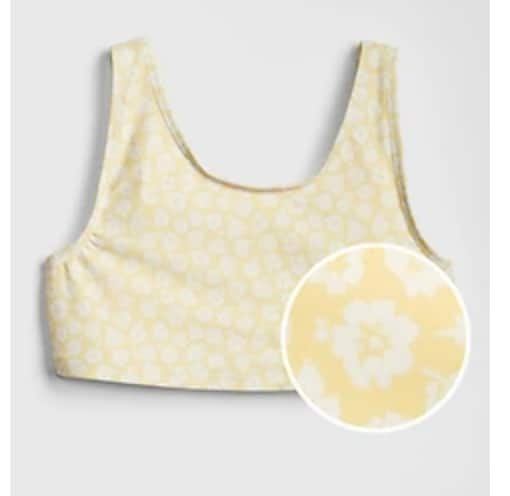 Gap.com Girls' Floral Tank Swim Top $2.68, Toddler Bucket Hat $3.76, Girls' Shortie Shorts $4.30, Baby Brannan Bear Pull-On Pants $4.85 & Women's Jackets $18.88 + Free S/H