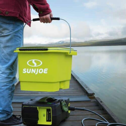 Sun Joe SPX6000C-XR Cordless Pressure Washer w/ 5.0 Ah 40-Volt Battery $89.10 + Free Shipping