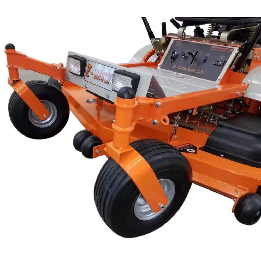 Beast x Briggs & Stratton 62 in. Zero-Turn Commercial Mower, 25 HP Pro-Series Engine Bundle (Includes Rollbar & Headlight) $3699 + Free S/H (does not ship to CA)