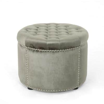 Noble House x Christopher Knight Home Tufted Ottomans: Tiernan Glam Round $74.95, Rosalynn Bench $83.33 + Free Shipping