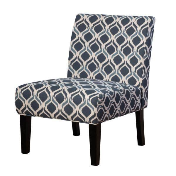 Noble House Mid-Century Chairs: Navy Saloon Print Accent $83.85, Darrow Armless $100.74, Felicity Armchair, Wasabi $107.50  + Free S/H