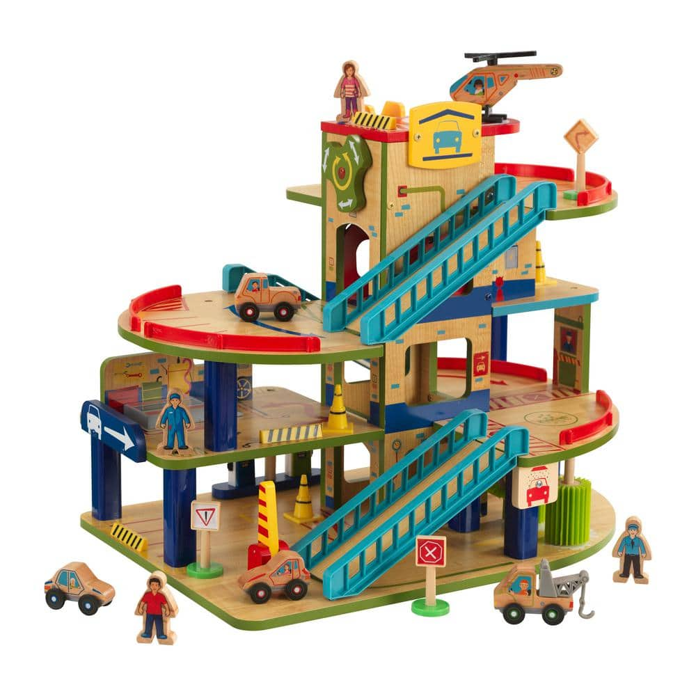 KidKraft Wash n Go Wooden Car Garage $49.12 at Home Depot + Free Shipping