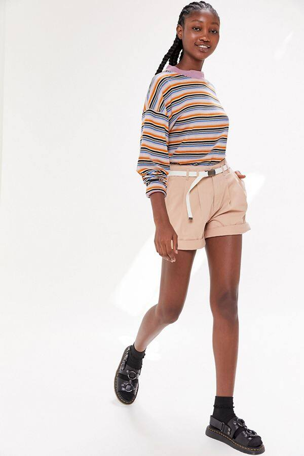 Women's Dockers Elaine Pleated Shorts $6, Andie Messenger Bag $6 | Herschel Supply Co. x UO Classic Mid-Volume Light Backpack $12 at UO + Free Store Pickup