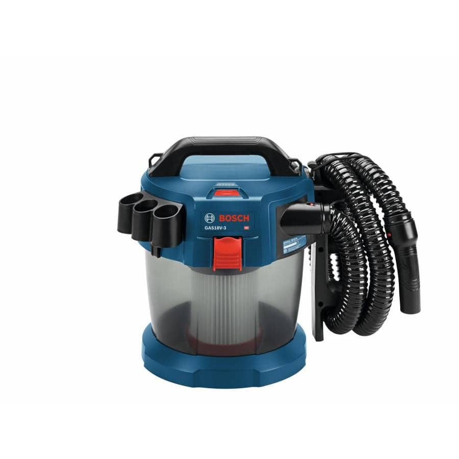 Bosch 18 V 2.6-Gallon Wet/Dry Vacuum Cleaner with HEPA Filter (Bare Tool) & CORE18V 4.0AH Battery & Charger Starter Kit $129 at Lowe's + Free Store Pickup