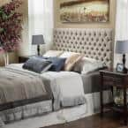 Nobel House Jezebel Button Tufted Headboard, Full/Queen from $86.27 at Home Depot + Free Store Pickup