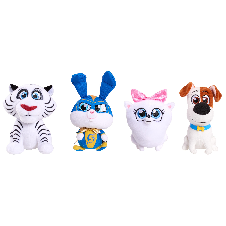 "Universal Secret Life Of Pets 2: 8"" Plush Bundle (Max, Gidget, Snowball & Hu) $5 + Free Store Pickup"