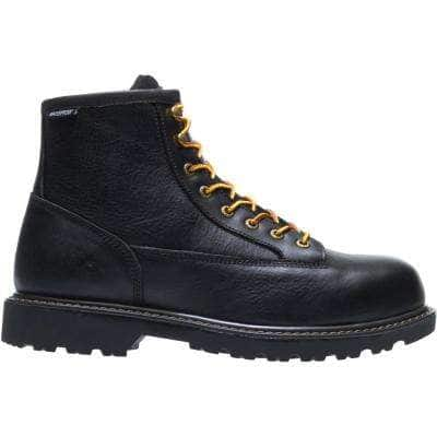 "Men's Waterproof Work Boots: Wolverine Floorhard 2 Steel Toe $57.50 | CAT Induction $72.48, 6"" Crossbar $75, 6"" Struts $77.50 at Home Depot & More + Free Shipping"