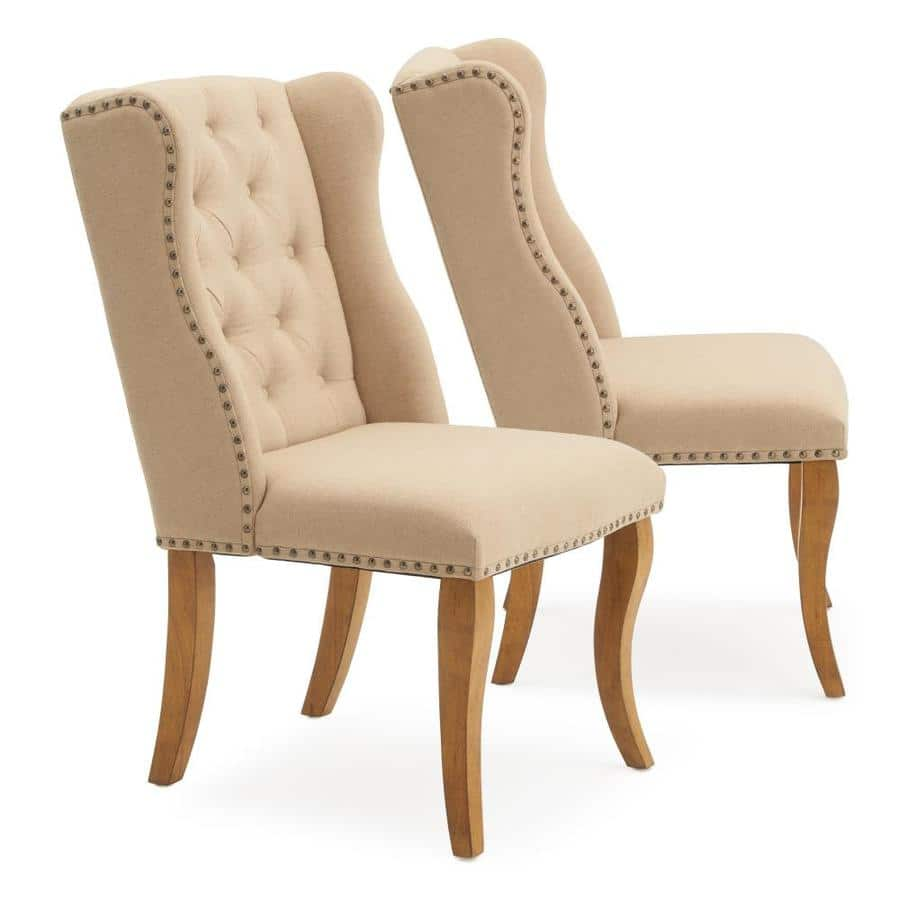 Set of 2 RST Brands - Avignon Tufted Dining Chairs: Beige $209.23, Grey $220 + Free Shipping