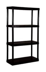 MaxIt 4-Tier Knect-A-Shelf Resin Shelving Unit (54-1/2 in. H x 32 in. W x 14 in. D) $19.99 + Free Store Pickup at Ace Hardware