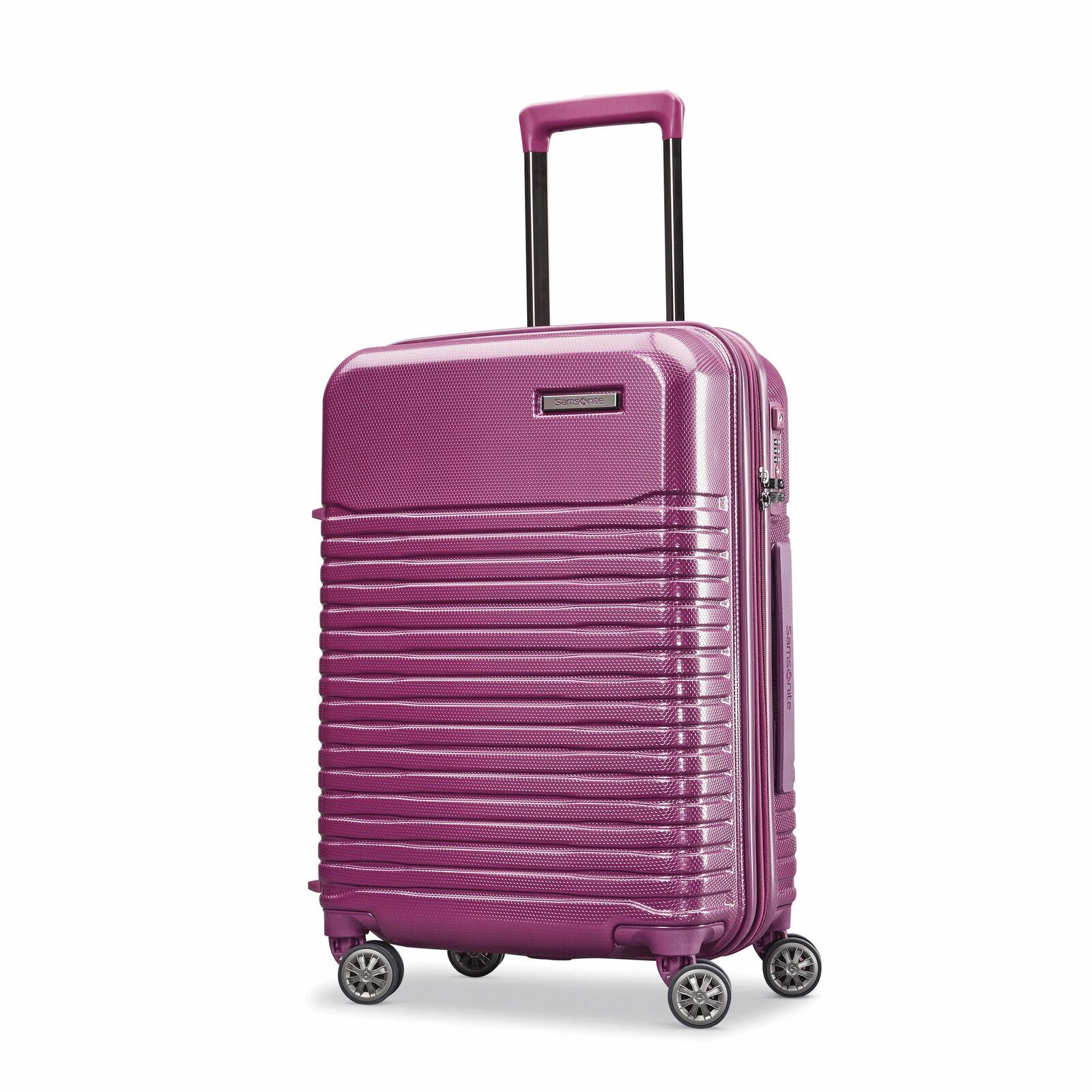 "Samsonite Spettro Spinner Luggage: 20"" (Purple) $56, 25"" (Blue or Purple) $64, 29"" (Purple) $72 + Free Shipping"