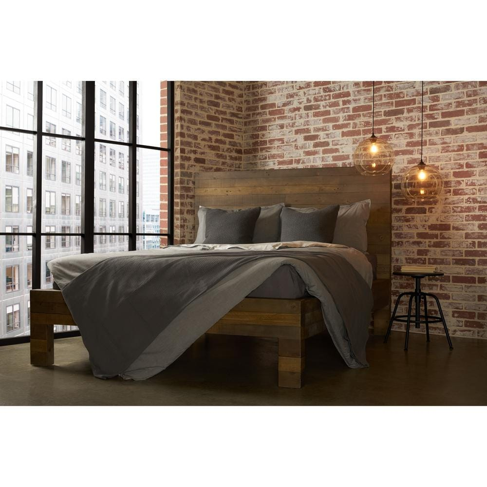 RST Brands Vanderbilt Reclaimed Wood Bed, Queen $494.12 at Lowe's + Free Shipping