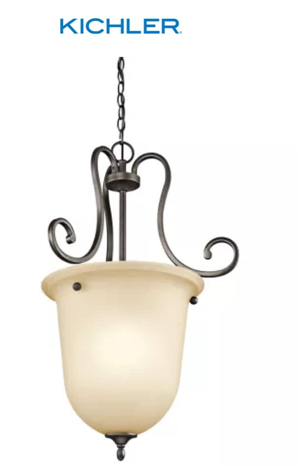 """Kichler Feville Indoor Urn-Style Pendant (30.25"""" W x 102.25"""" H) $7.83 + shipping 