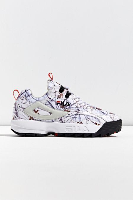 Men's FILA Winter Camo Ray Tracer X Disruptor Sneaker $29.99, Women's Kaloni Rain Jacket $29.99, Men's Puma X Helly Hansen Nightfox Sneaker $49.99 + FS on $50+