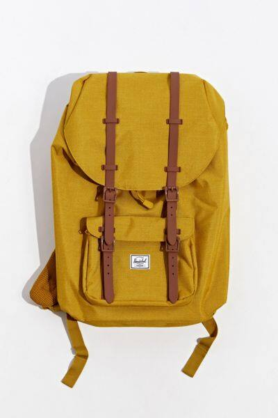 Herschel Supply Co. Little America Backpack (Mustard) $29.99 at Urban Outfitters + Free Store Pickup