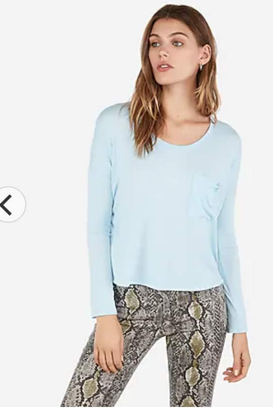 Express.com: Extra 50% Off Clearance & FS (no min) - Women's Boxy Tee $4.97, Bodysuits $7.50, Men's Tees $10 & More